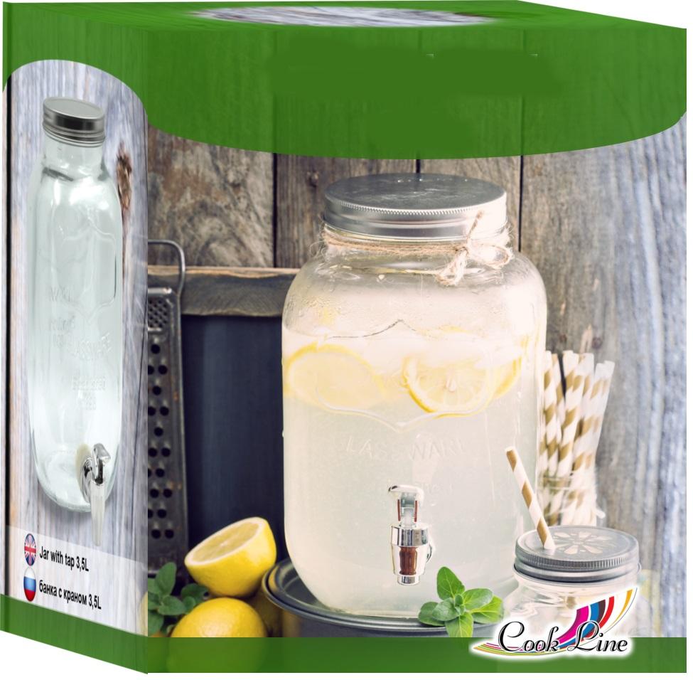 3 5l getr nkespender mit zapfhahn zapfs ule dispenser aus glas ebay. Black Bedroom Furniture Sets. Home Design Ideas